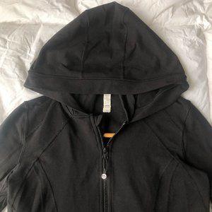 lululemon OG Define Jacket Hoodie BLK SZ 8